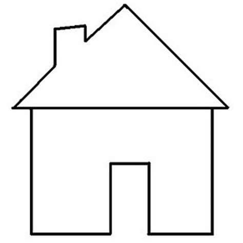 house template clipart best