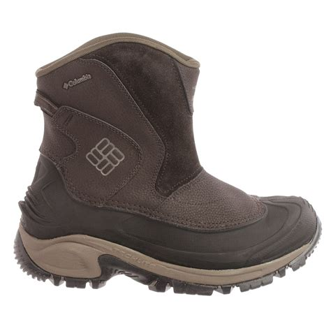 mens slip on winter boots columbia sportswear bugaboot slip on snow boots for