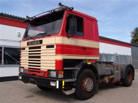 scania 142m 400 v8 tractor unit from germany for sale at