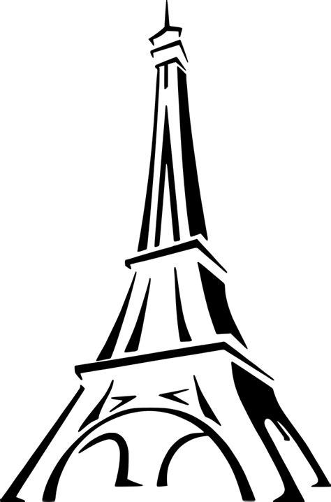 OnlineLabels Clip Art - Eiffel Tower 2
