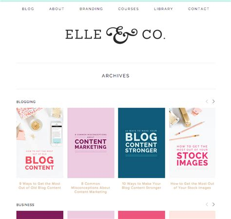 blog archive layout how to set up blog archives in squarespace