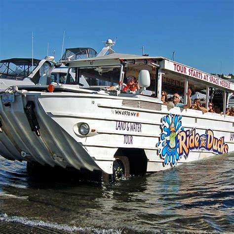 duck boat tours website ride the ducks of seattle