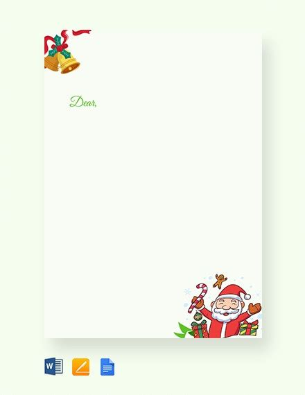christmas letters documents