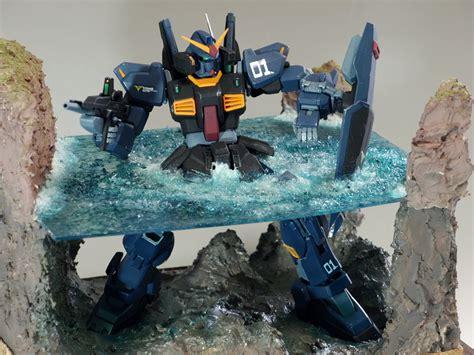 Diorama Gundam Gunpla g work of the day diorama mg gundam mk ii ver 2 0 big size images gunjap