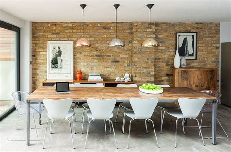 Dining Room Table Decorating Ideas 30 Ways To Create A Trendy Industrial Dining Room