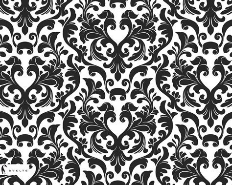 elegant wallpaper pattern black and white black and white damask wallpaper