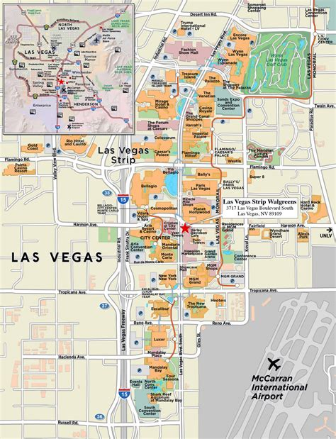 map las vegas large map of las vegas city las vegas large map vidiani maps of all