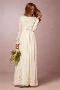 wedding day dresses best bohemian style wedding dresses from mckenna to l