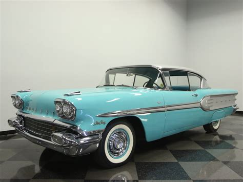 1958 Pontiac For Sale by Marlin Turquoise 1958 Pontiac Chief For Sale Mcg