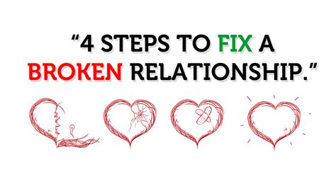 Steps To Mending A Relationship After An Affair by 4 Steps To Fix A Broken Relationship Part 3