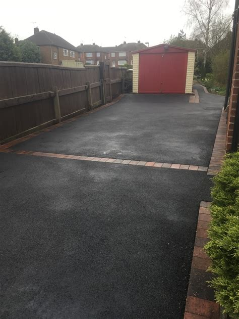 Tarmac Patio by Tarmac Driveway And Patio Transformation In Langley Mill