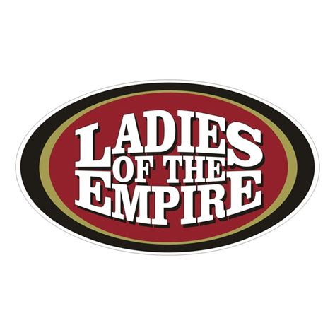 sf 49ers fan store ladies of the empire 49ers female fans 49ers