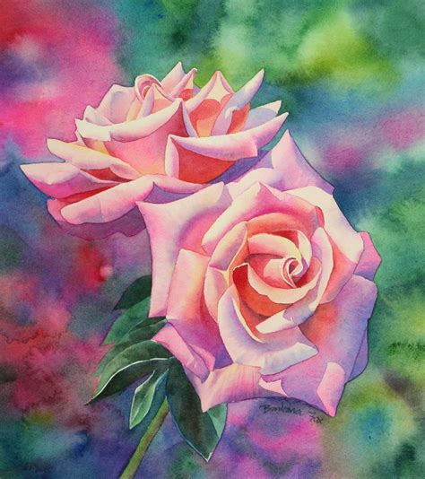 tutorial drawing watercolor watercolor rose painting tutorial step by step