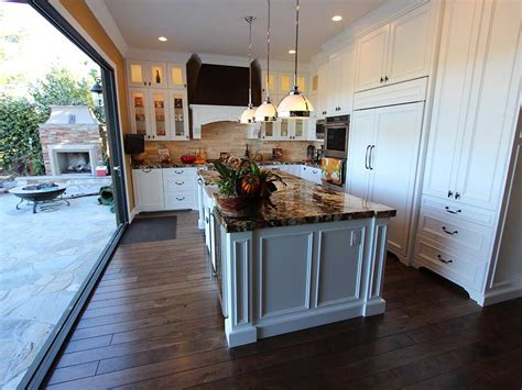 Open Air Kitchen by Coto De Caza Traditional White U Shaped Design Build