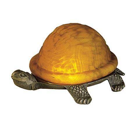 meyda 18004 turtle glass accent l