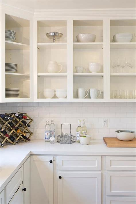 Upper Kitchen Cabinets | white upper cabinets design ideas