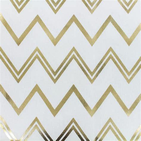 white cotton upholstery fabric cotton fabric b b fabrics chevrons white gold