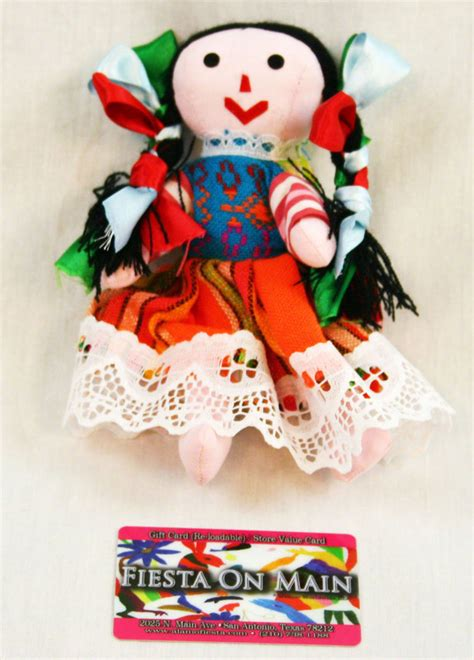 mexican rag doll rag doll mexican muneca sml 6in alamo