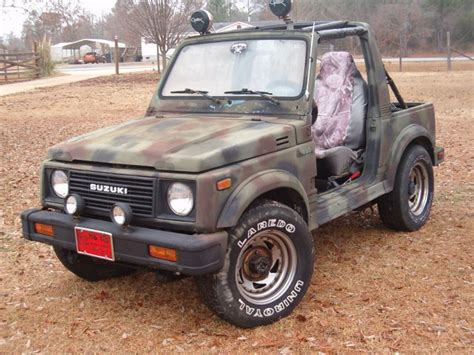 1986 Suzuki Samurai For Sale Joessamuriaparts 1986 Suzuki Samurai Specs Photos