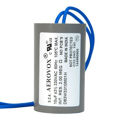 aerovox hid capacitors hid lighting capacitor 330v aerovox d83w3310m01h