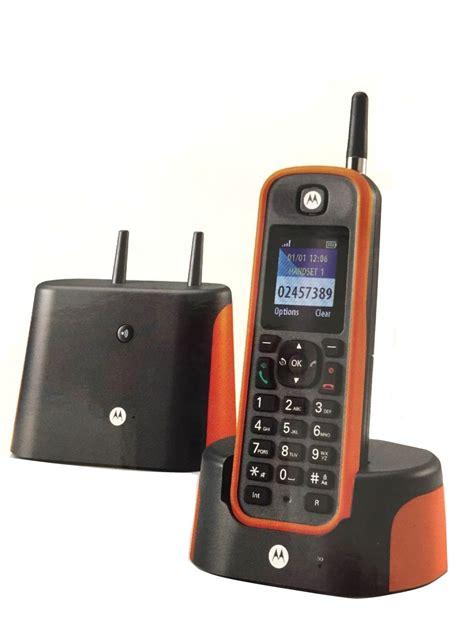 telefono cordless lunga portata telefono cordless motorola o201 single nuovo lunga portata