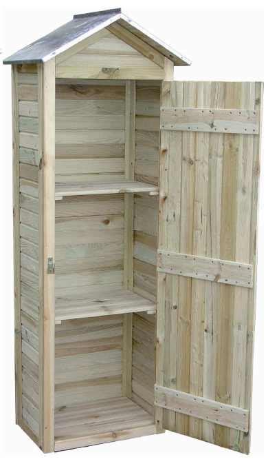 petites armoires de rangement armoire de jardin en pin