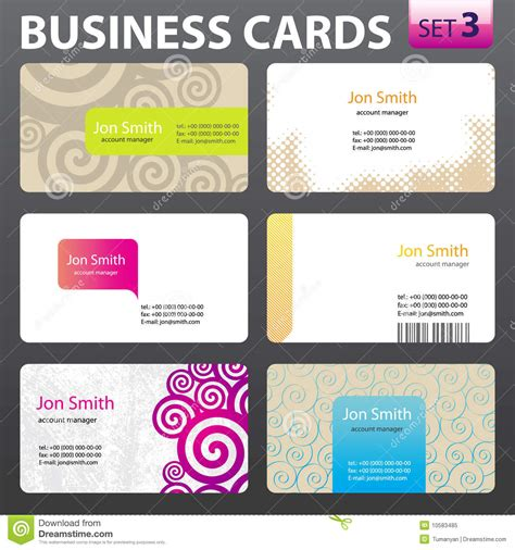 business cards templates royalty free business card templates royalty free stock photo image 10583485