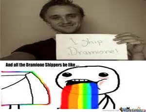 Dramione memes team dramione
