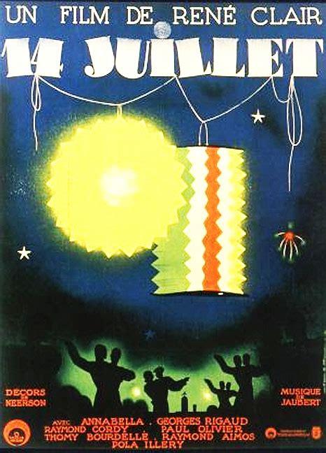 rene clair quatorze juillet quatorze juillet 1932 rene clair annabella raymond cordy