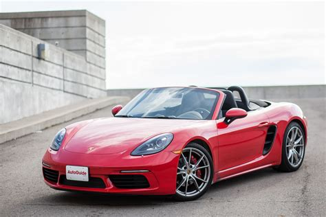 red porsche boxster 2017 2017 porsche 718 boxster cayman review and road test