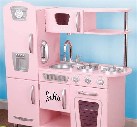 Retro Play Kitchen by Personalised Retro Play Kitchen By Letteroom