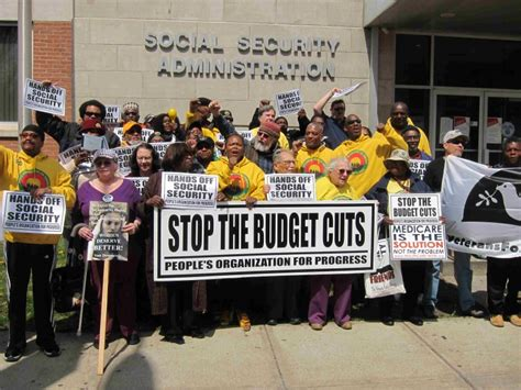 Social Security Office In Newark Nj by Protest Demands Social Security Fight Back