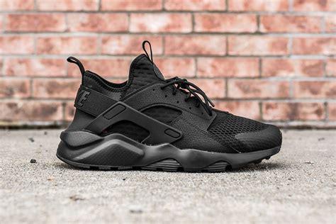 Nike Huarache Ultra Huarache Run Ultra Black Carrelage Brignolais Fr
