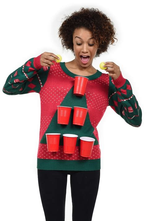 crazy ugly christmas sweaters you can actually buy glamour
