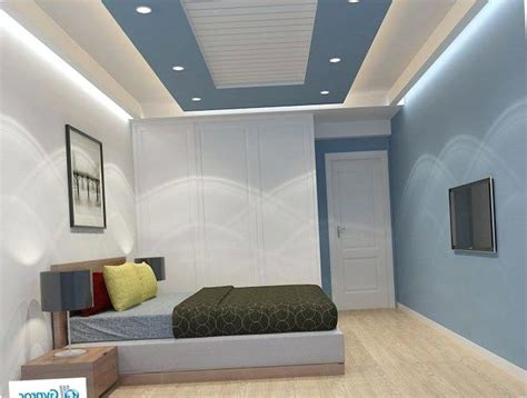 simple ceiling design plaster  false ideas wall lighting