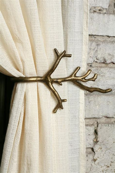 tree curtain rod gold tree branch curtain rod for the home pinterest