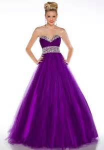 be a princess at your prom in a purple prom dress pds blog