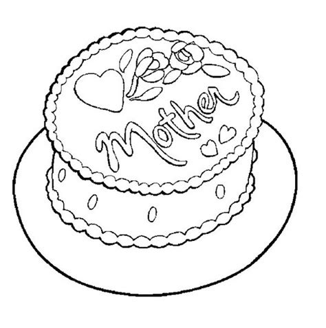coloring page for cake decorating coloring page for cake decorating kids coloring page gallery