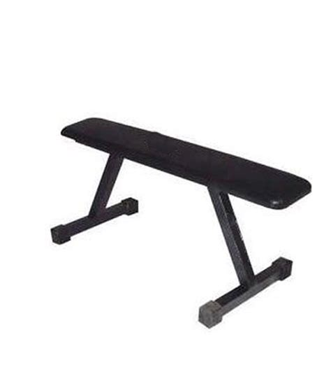 weight training bench bodyfit weight lifting flat bench buy online at best