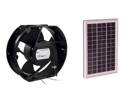 10 Inch Attic Fan - attic exhaust fans cdt f10 solar power fan 10 watt 6