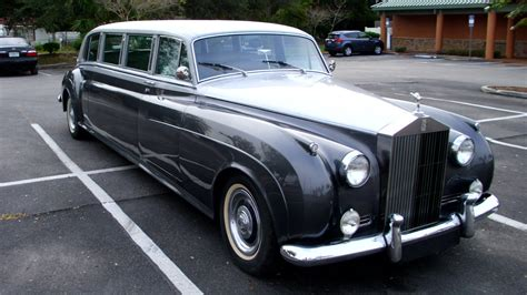rolls royce classic limo 1958 rolls royce silver cloud 1 limousine gm converted