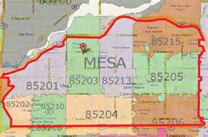 zip code map arizona mesa zip code map pictures to pin on