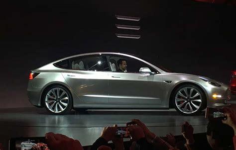 Tesla Model W Tesla Model 3 Officially Unveiled W
