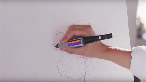 color scan pen scribble pen lets you draw in any color simply by scanning