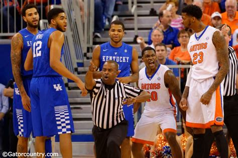 Florida Gators Basketball Preparing For Gators Prepare For Kentucky Wildcats Florida Gator