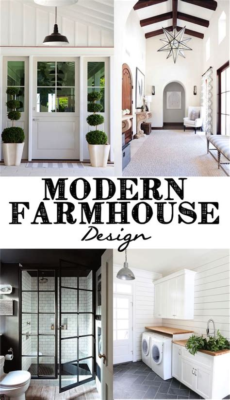 contemporary farmhouse style modern farmhouse shower doors and industrial on pinterest