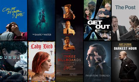 which film got oscar this year oscars 2018 watch trailers for every best picture nominee