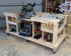 workbench plans randkey additionally free standing pallet garden braces plywood table playhouse diy