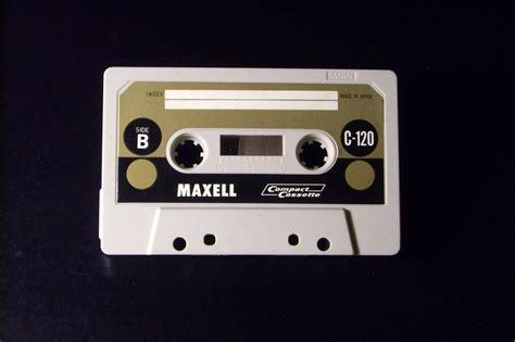vintage cassette maxell vintage audio cassette c 120 used type i