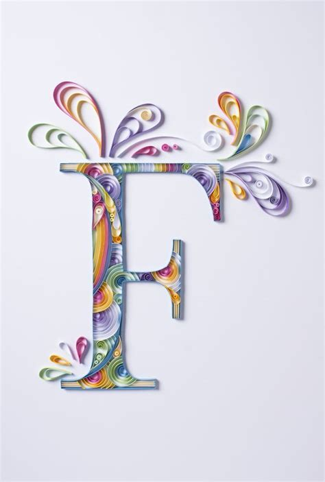 Quilling Outline Letters by 522 Best Abcs Monograms Words Numbers Quilled Images On